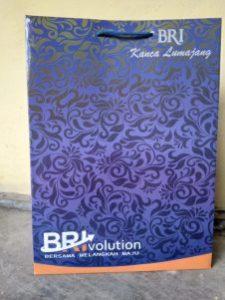 paper bag bank BRI