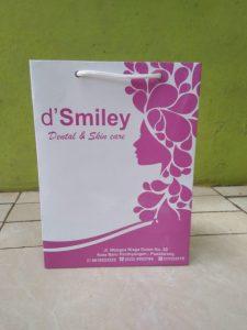 paper bag salon kecantikan