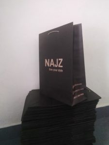 paper bag distro kraft coklat
