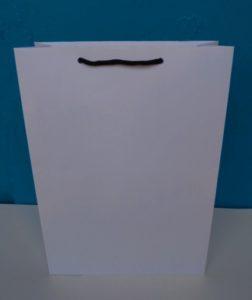 jual tas kertas atau paper bag polos putih